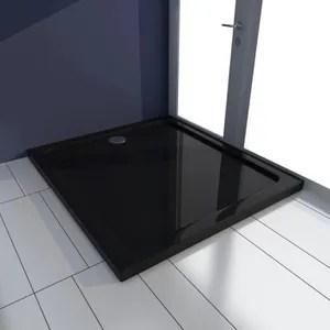 receveur de douche noir