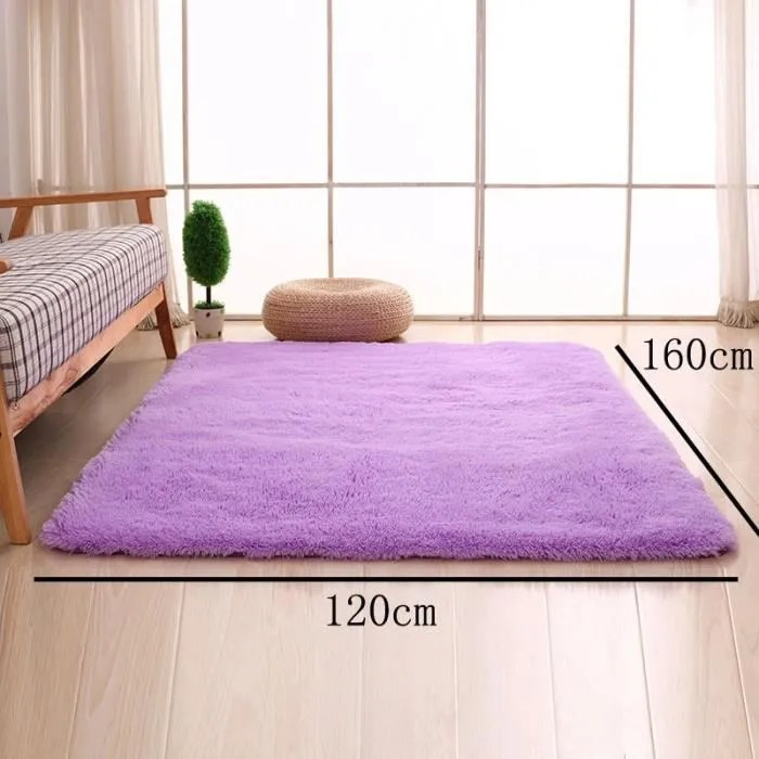 violet 120 160cm tapis chambre enfant tapis salon