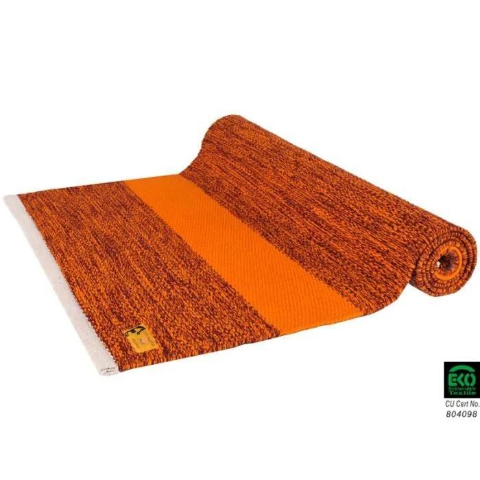 tapis de yoga taj 100 coton bio 2 m