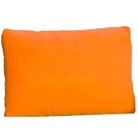 coussin deperlant exterieur 120 x 60 x 12 orange o