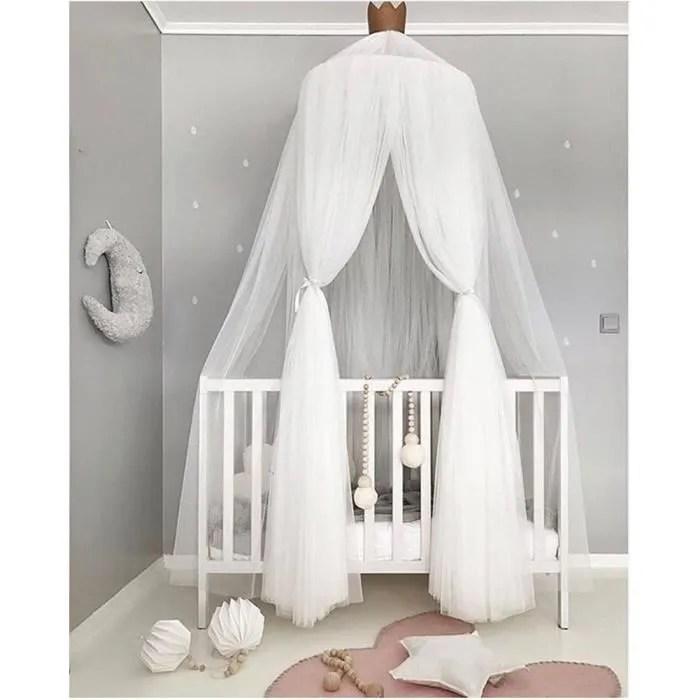 baldaquin ciels de lit rideaux de bebe lit de jeu