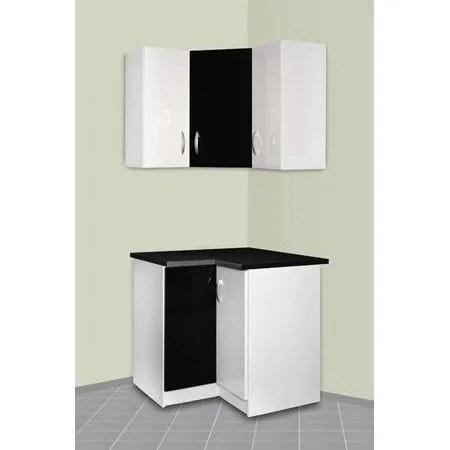 meuble cuisine d angle haut et bas oxane