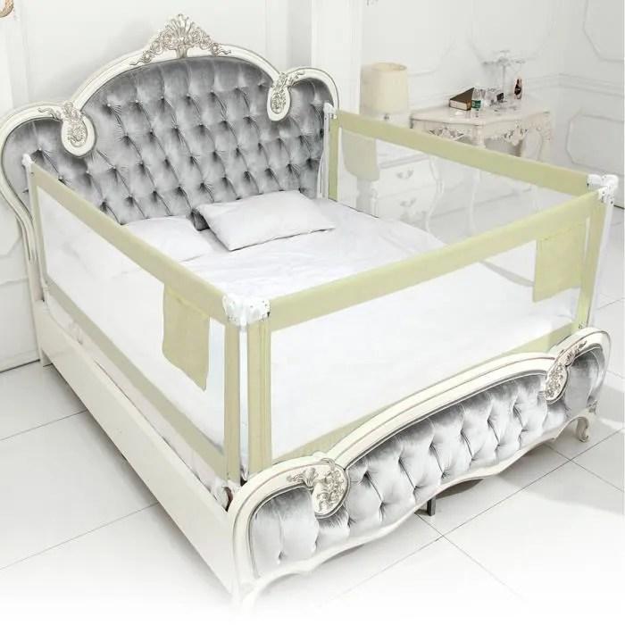 barriere de lit enfants bebes protection bord de lit pour securite 200x80cm