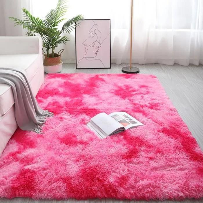 tapis de salon chambre sol en peluche moquette int