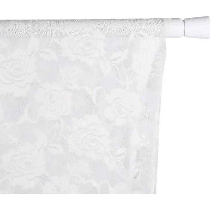 barre rideau extensible 4m sans fixation