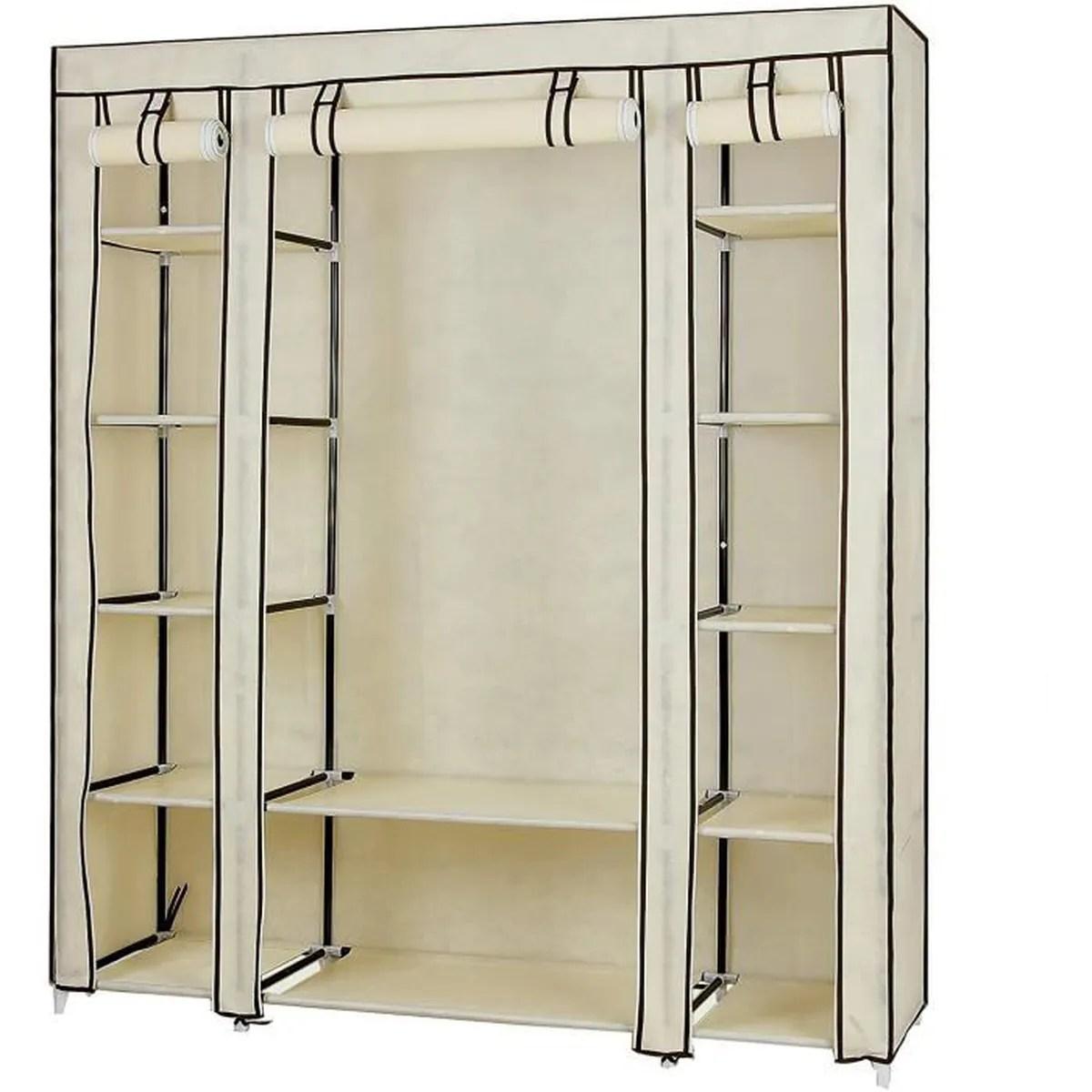 armoire dressing avec rideau