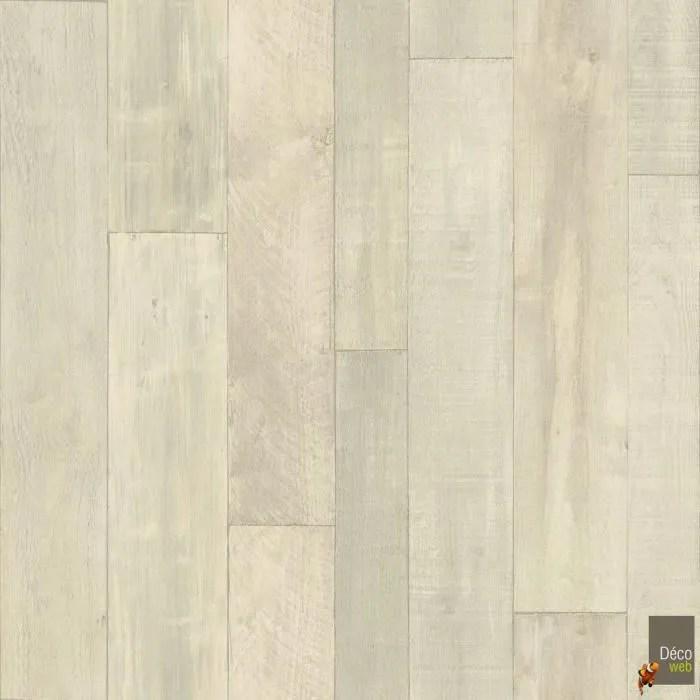 4m x 5m sol pvc smart atelier aspect bois vintage blanc