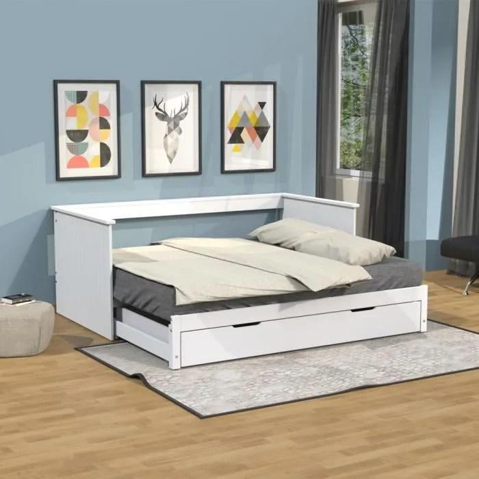 lit gigogne avec rangements alfio avec