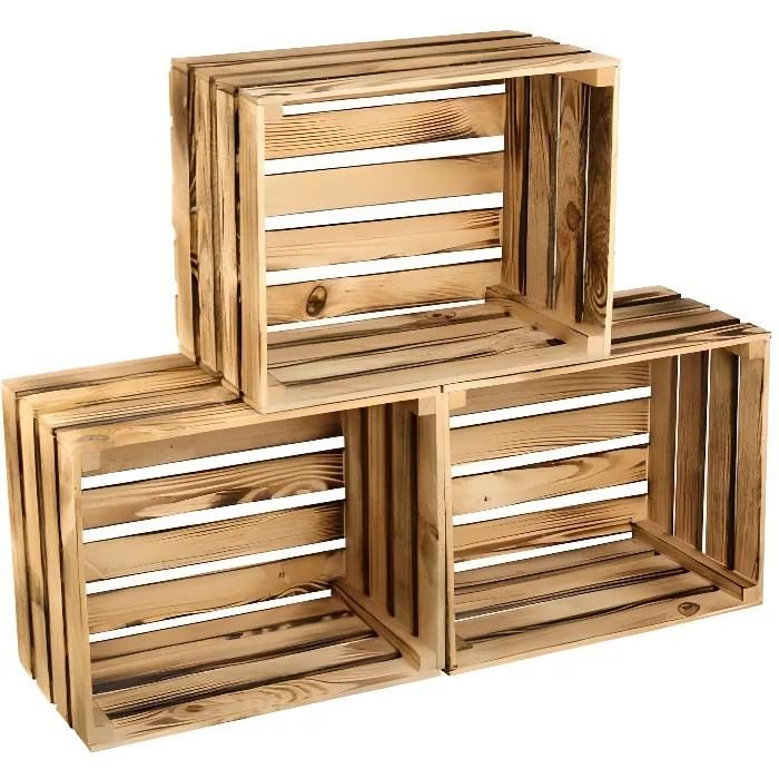 caisse en bois cdiscount