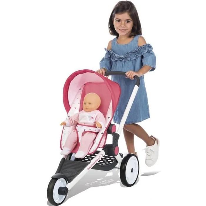 smoby bebe confort poussette jogger pour poupon