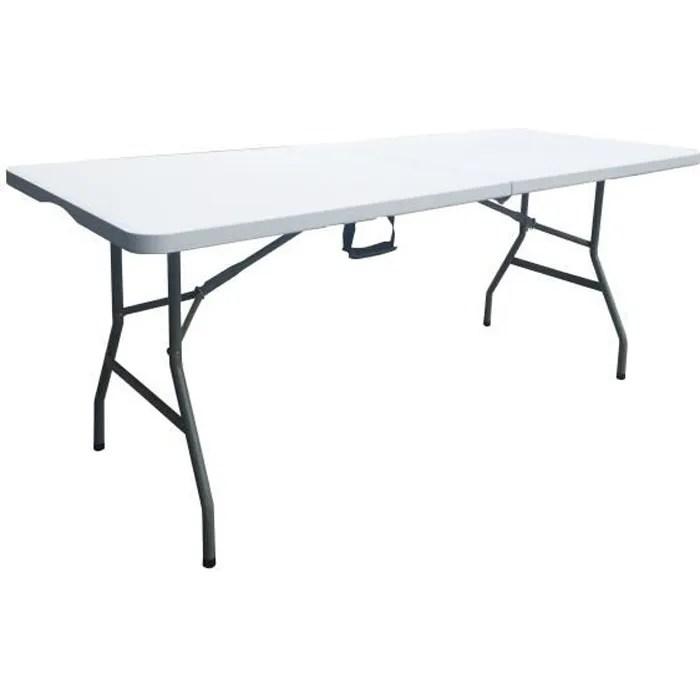 table de jardin pliante achat vente
