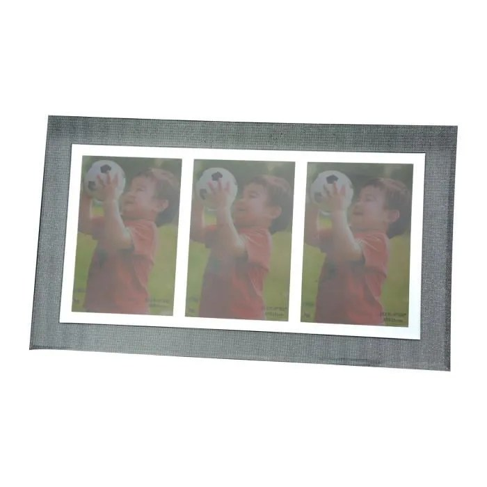 Cadre Plusieurs Photos De Cristal 36x21 Cm Cdiscount Maison