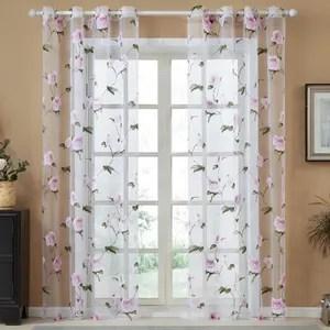 topfinel rideaux voilages transparents