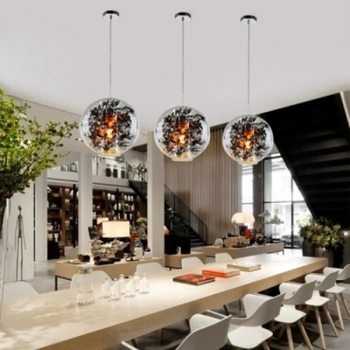 plafonnier restaurant minimaliste