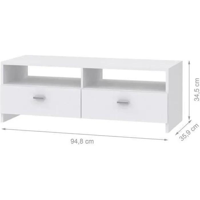 meuble tv 110cm