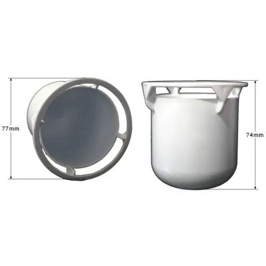 tasse seule pour bonde de douche diametre 90mm