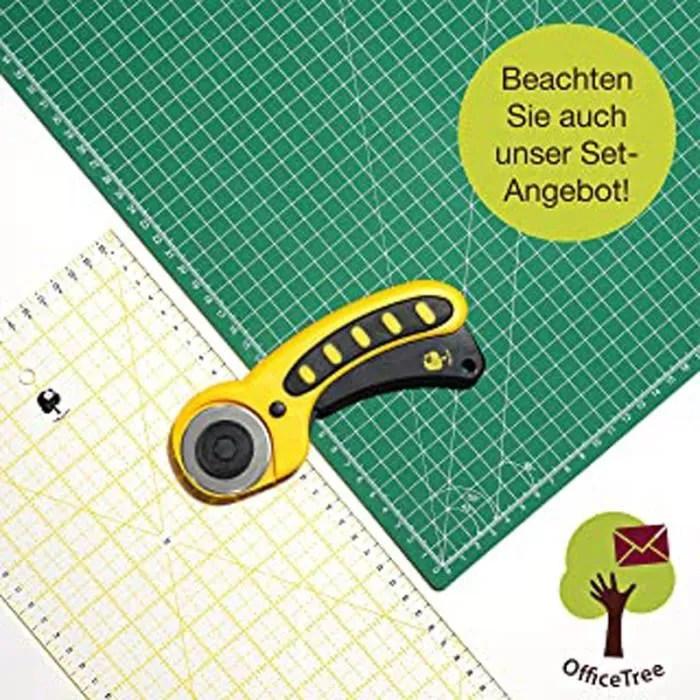 kit tapis de decoupe 90x60 cm a1 vert cutt