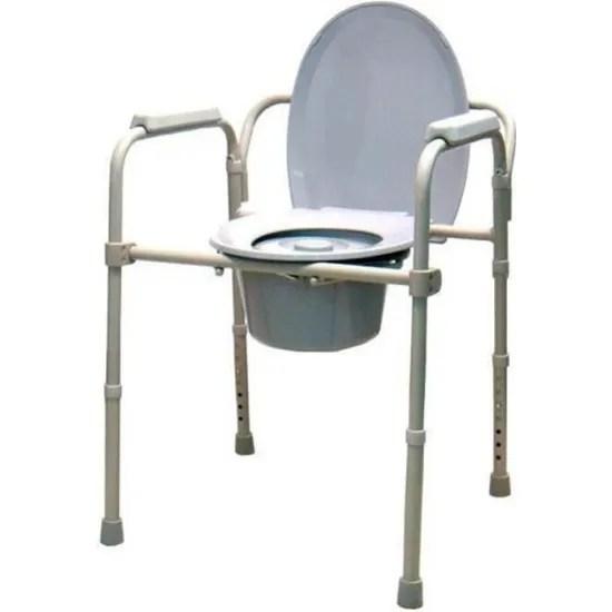 chaise percee chaise wc reglable en hauteur avec accoudoirs et dossier