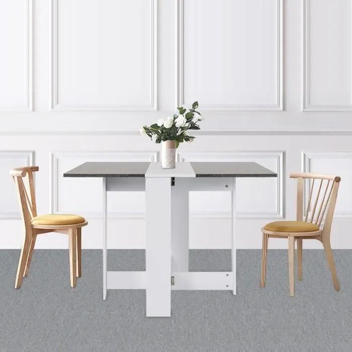 table pliante de cuisine sejour salon style contem