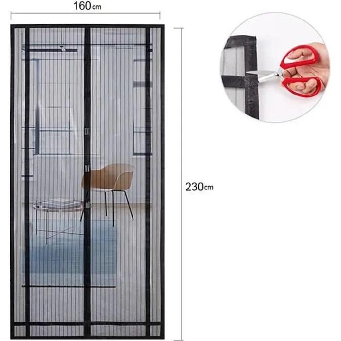 moustiquaire decoupable rideau de porte fermeture