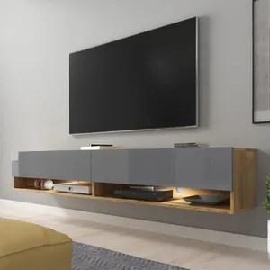 beton selsey wander 180 cm meuble tv