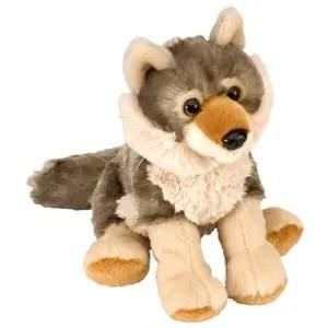 mini loup peluche