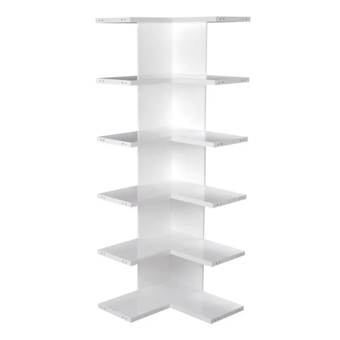 lorena etagere d angle blanche achat
