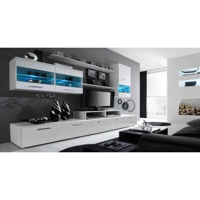 meuble tv composition mural