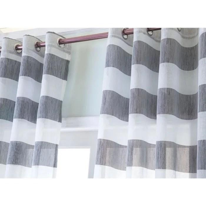rideaux voilage 132x160 a oeillet rideau voilage