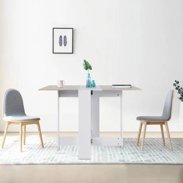 table de cuisine salon table pliable l 103x l7