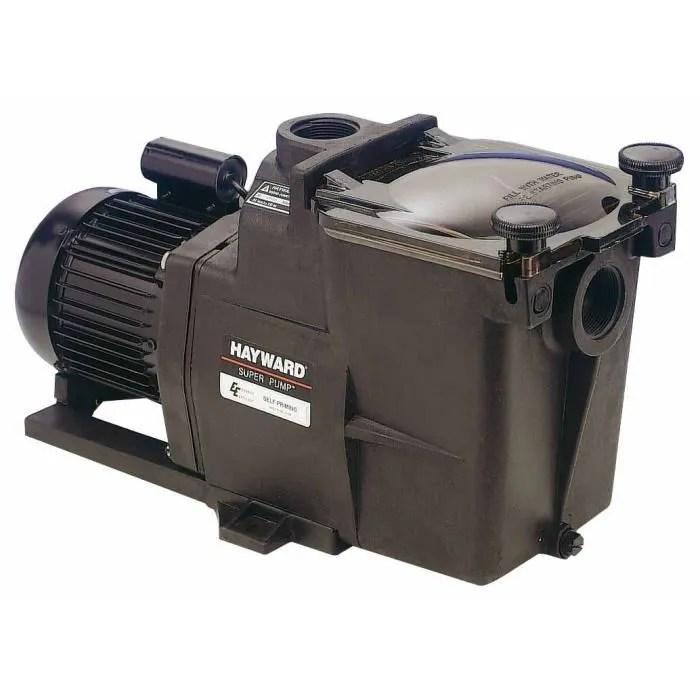 Hayward Super Pump Tri 1 5 Cv 2 Pompe De Filtration Piscine Cdiscount Jardin