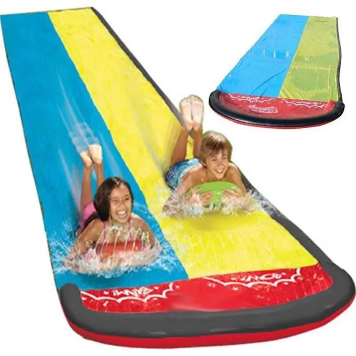 tapis de glisse double jeu eau plein air pour l ex