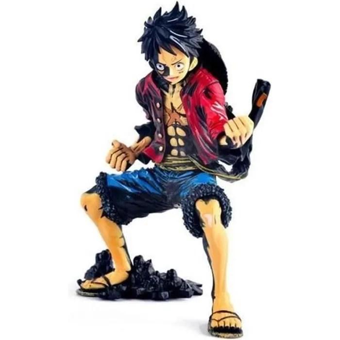 anime figurine one piece gear second monkey d luffy noir 21cm xpp jouet