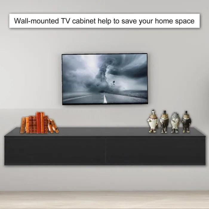 design moderne meuble tv suspendu avec