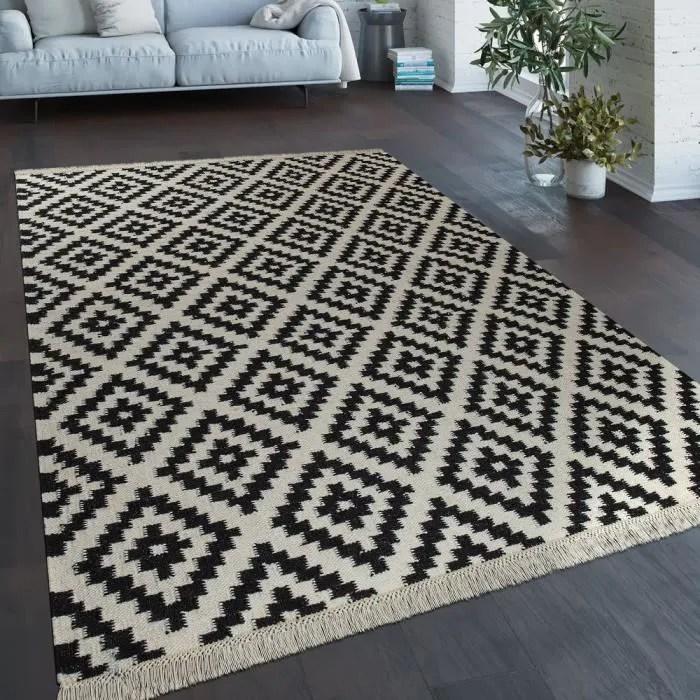 tapis tisse main tendance moderne design marocain