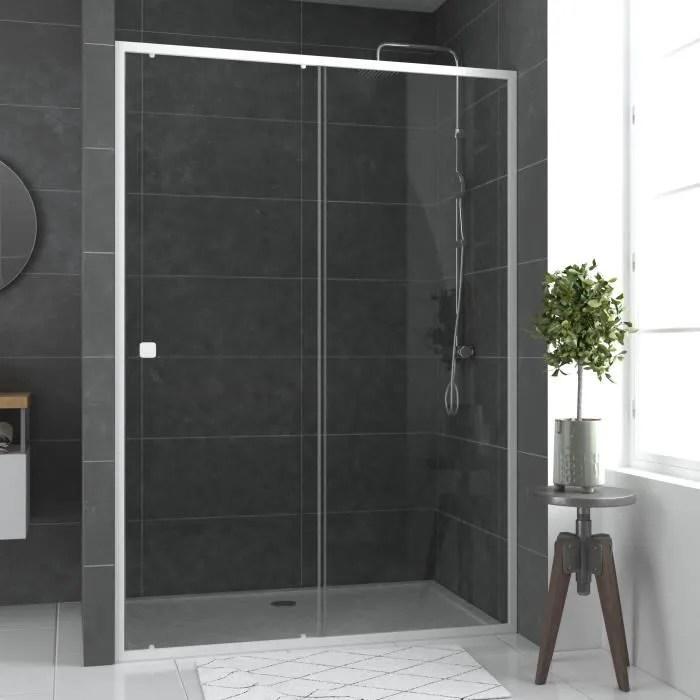 porte de douche coulissante 140 cm