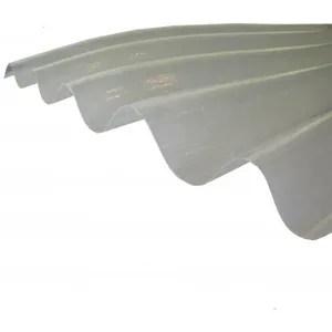 Plaque Polyester Ondulee L 2 5 M L 92 Cm Translucide Cdiscount Bricolage
