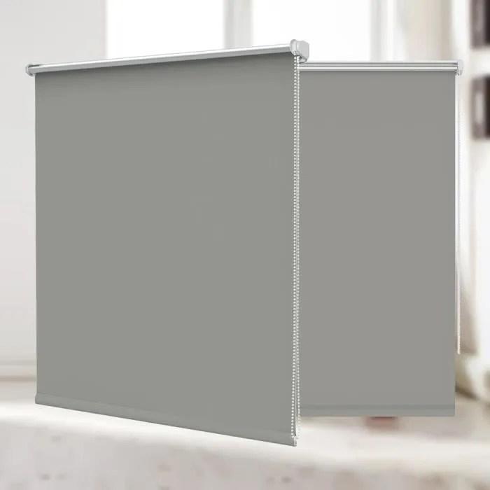 store enrouleur occultant thermique 120x150 cm gri