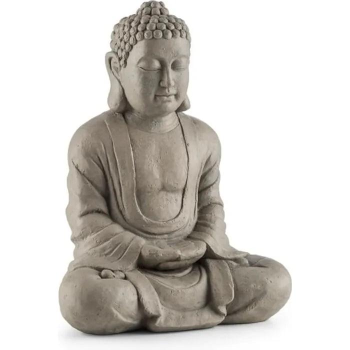 statue de jardin en pierre bouddha