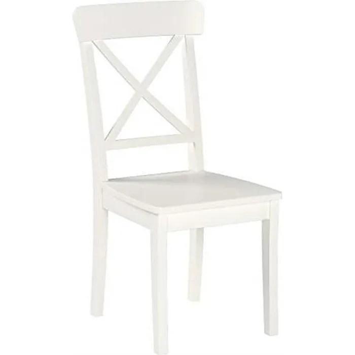 ikea ingolf chaise blanc achat