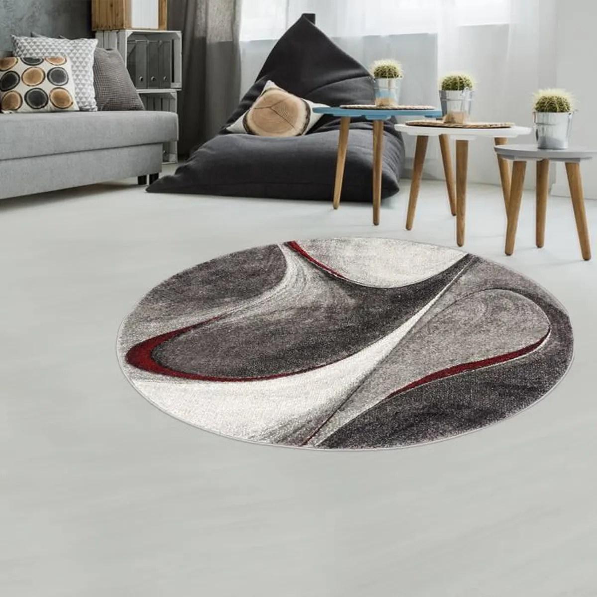 tapis rond 200 cm