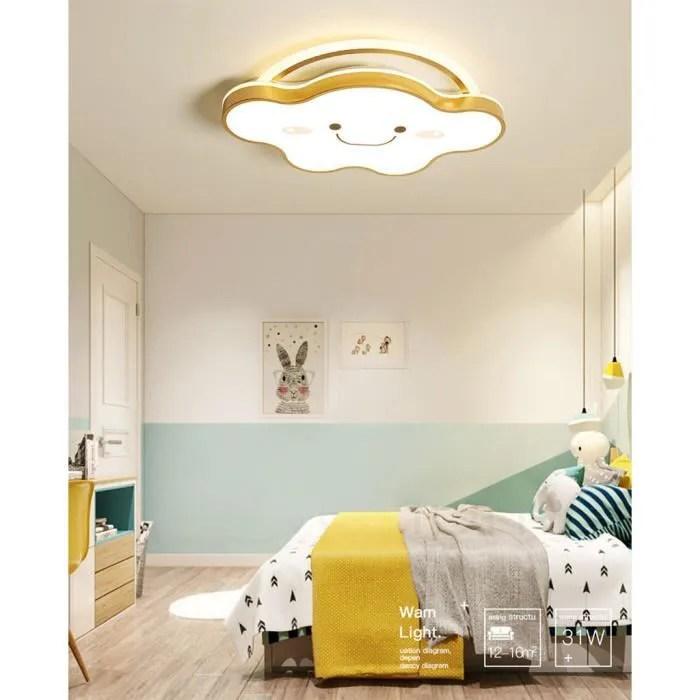 40w enfant led plafonnier luminaire nuage dore lampe de plafond pour bebe chambre a coucher salon decoration boutique 59 50 6cm