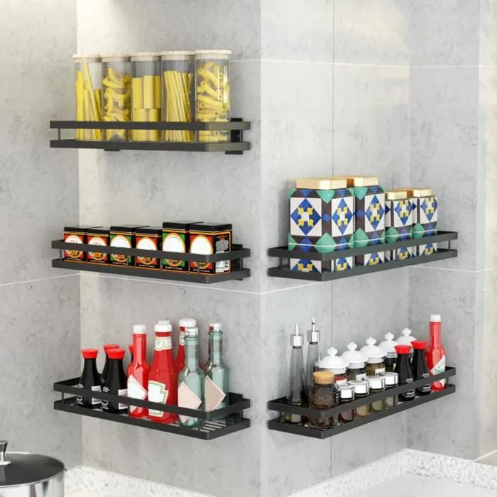 neufu etagere rangement cuisine etagere murale cuisine etagere a epices cuisine 30cm