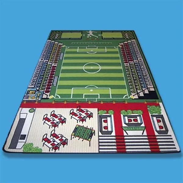 tapis jeu enfant 130 x 200 cm tapitom foot