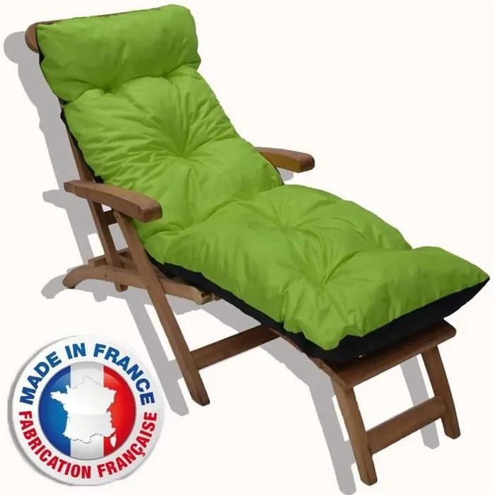 coussin fauteuil jardin dossier haut