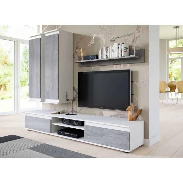 meuble tv colonne led