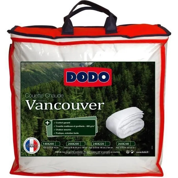 Couette Dodo Vancouver 220x240 Idees