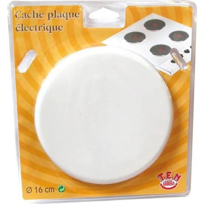 Cache Plaque Electrique D 20 Cm Blanc Cdiscount Maison