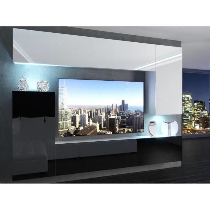 slide ensemble meubles tv unite murale style m