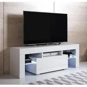 meuble tv haut cdiscount maison